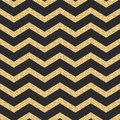 Classic chevron stripe glitter shimmer seamless vector pattern geometric zigzag line gold foil wrap event paper for holiday gift Royalty Free Stock Image