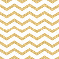 Classic chevron stripe glitter shimmer seamless vector pattern geometric zigzag line gold foil wrap event paper for holiday gift Royalty Free Stock Images