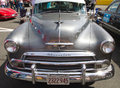 Classic 1951 Chevy Automobile Royalty Free Stock Photo