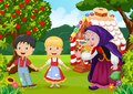 Classic children story Hansel and Gretel Royalty Free Stock Photo