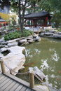 Classic chinese garden Royalty Free Stock Photography