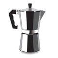 Classic coffee machine for espresso. Vector illustration