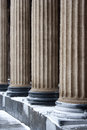 Classic columns pattern Stock Photo
