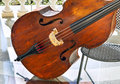 Classic contrabass Royalty Free Stock Photo