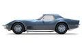 Classic Corvette (1970) Royalty Free Stock Photo