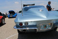 Classic corvette rear Royalty Free Stock Photo