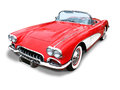Classic Corvette Sports Car- isolated Royalty Free Stock Photo