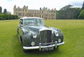 Classic daimler motorcar saffron walden essex england june on show at audley end house Royalty Free Stock Images
