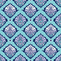 Classic damask wallpaper Royalty Free Stock Images