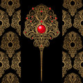 Classic Decoration And Wallpaper Background Royalty Free Stock Image