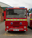 Classic Dennis DS Fire Engine Royalty Free Stock Photo