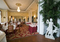 Classic dining room Stock Images