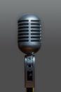 Classic Dynamic Vocal Microphone Metallic Silver