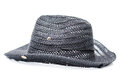 Classic fedora style hat isolated Royalty Free Stock Photo