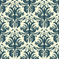 Classic floral pattern vector seamless Royalty Free Stock Photos