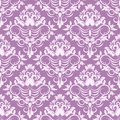 Classic floral pattern vector seamless Royalty Free Stock Photo