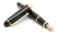 Classic fountain pen Royalty Free Stock Photo