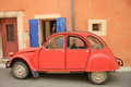 Classic french car Royalty Free Stock Photo