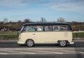 Classic German camper Volkswagen Royalty Free Stock Photo