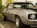 Classic Grey Car Royalty Free Stock Photo