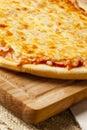 Classic Homemade Italian Cheese Pizza