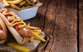 Classic Hot Dog Royalty Free Stock Photo