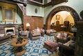 Classic hotel lobby Royalty Free Stock Photo