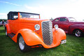 Classic hotrod on show at meanee speedway Stock Images