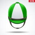 Classic Jockey helmet Royalty Free Stock Photo