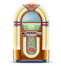 Classic juke box Stock Photography