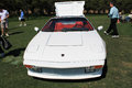 Classic lamborghini sports car front white jalpa super frontend boca raton concours Stock Photo