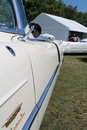 Classic luxury american car side detail door and fender cadillac eldorado convertible Royalty Free Stock Photos