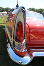 Classic luxury american car tail lamp detail Royalty Free Stock Photo
