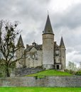Classic medieval Castle of Veves in Belgium Royalty Free Stock Photo