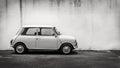 Classic mini car Royalty Free Stock Photo