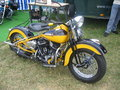 Classic motorbike in ringengen harley festival germany europe Royalty Free Stock Photography