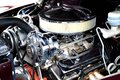 Classic muscle car engine Royalty Free Stock Photo