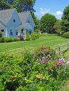 Classic  New England House, Royalty Free Stock Image