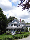 Classic  New England House Royalty Free Stock Photos