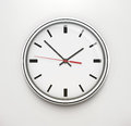 Classic office clock Stock Image