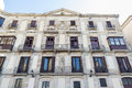 Classic old building in Barcelona Royalty Free Stock Photo