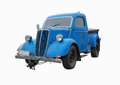 Classic old car isolated,  vintage Royalty Free Stock Photo