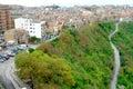 Classic old Sicily , Enna city Royalty Free Stock Photo