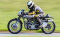 Classic racing motorbike Royalty Free Stock Photo