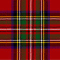 Classic red tartan Royalty Free Stock Image
