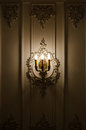 Classic sconce closeup Royalty Free Stock Photo
