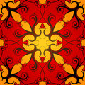 Classic seamless ornament vector illustration of tile Stock Photography