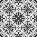 Classic seamless ornament vector illustration of tile Royalty Free Stock Photos