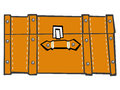 Classic Suitcase, Top View