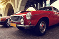 Stock Images Classic swedish car